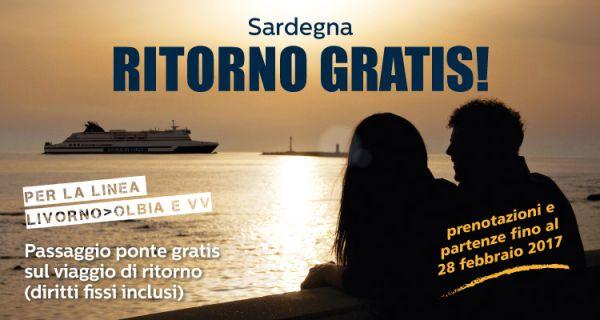 Traghetto Livorno Olbia ritorno Gratis