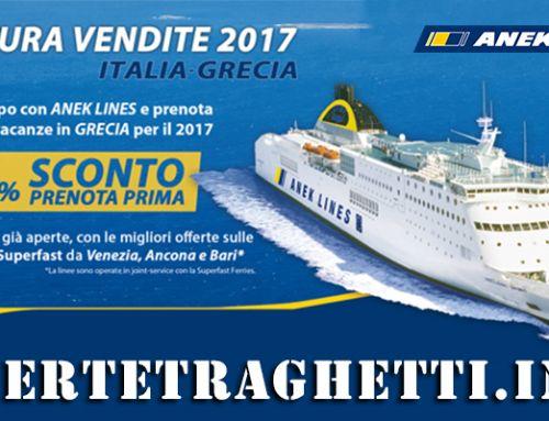 Prenota Prima il Traghetto per la Grecia