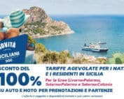 Offerta con auto Gratis per i residenti in Sicilia, Grimaldi Lines