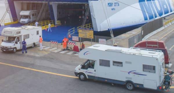 Offerta per camper che imbarcano per Elba con Moby Lines