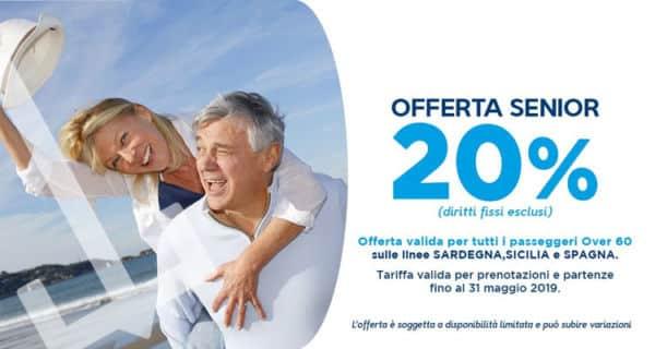 Offerta traghetto per Senior over 60, Grimaldi Lines
