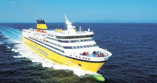 Nave della Sardinia Ferries