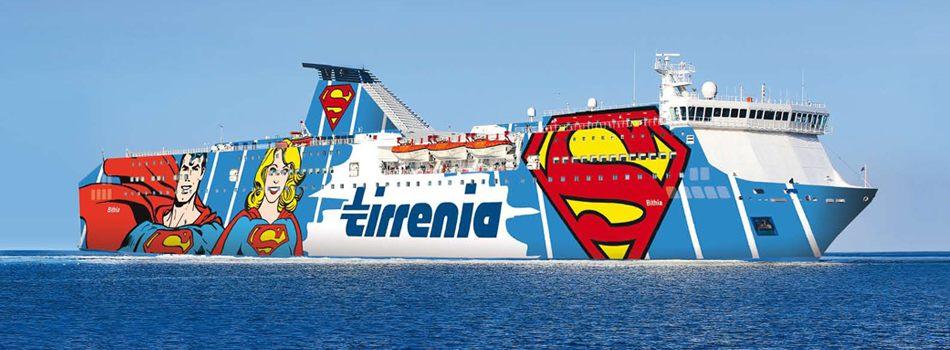 traghetti Civitavecchia Olbia, serviti da Bithia di Tirrenia