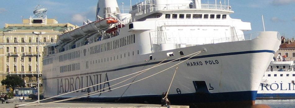 Traghetti Ancona Spalato, Jadrolinija, nave Marco Polo