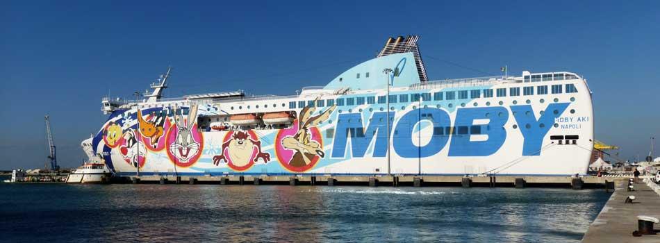 Traghetti Livorno Olbia, Moby Aki