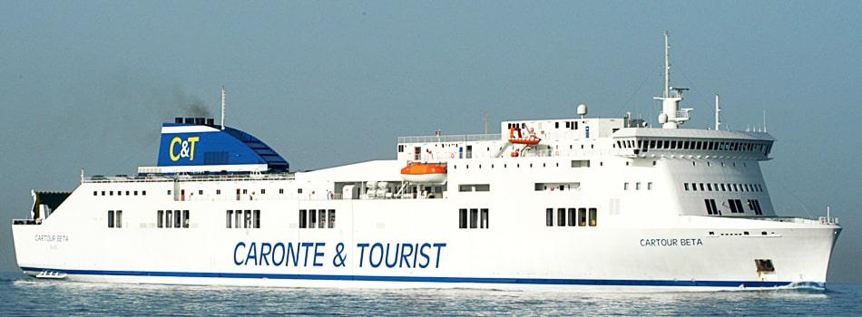 Traghetti Salerno Messina Caronte Tourist