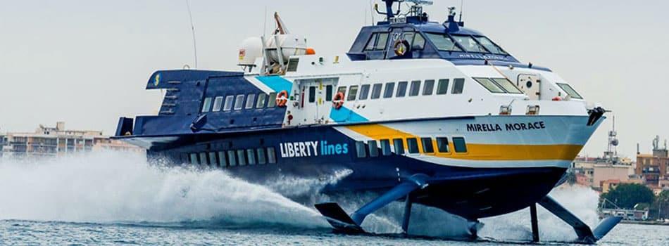 Aliscafi per la Grecia Liberty Lines