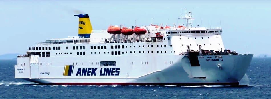Traghetti Grecia Anek Lines